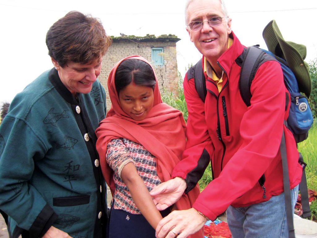 Eileen & John in Nepal